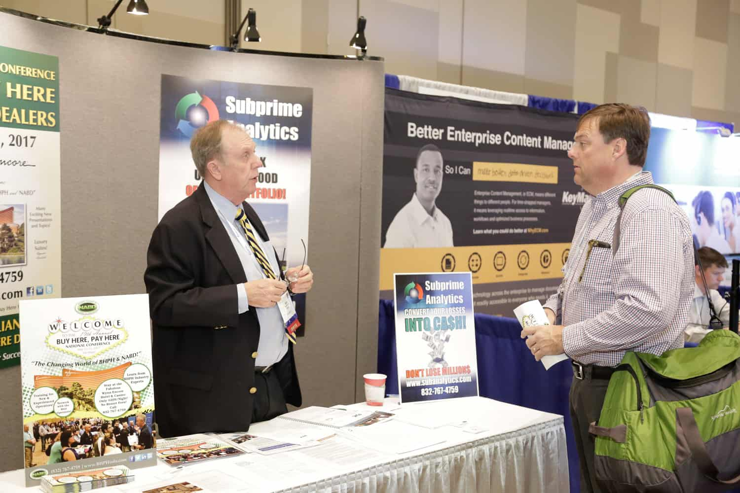 NABD exhibit booth